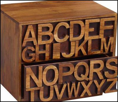Acacia Alphabet