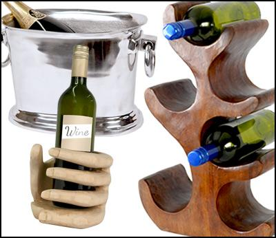 Wine Racks & Drink Accessories