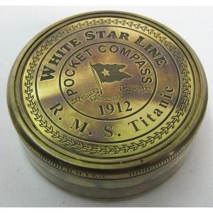 White Star Titanic Compass