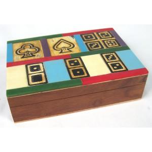 Card, Dice & Dominoes Set