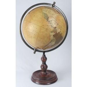 World Globe On Wooden Base 72cm