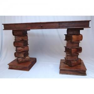 Acacia Lisbon Range Book Desk Console Table