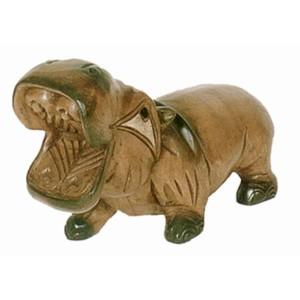 Acacia Wood Hippopotamus