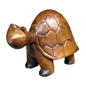 Acacia Wood Tortoise/Turtle - 20cm