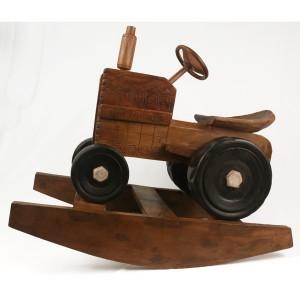 Acacia Wood Rocking Tractor