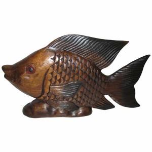 Acacia Wood Fish - 36cm