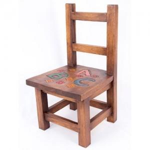 Acacia Wood ABC Design Childs Chair