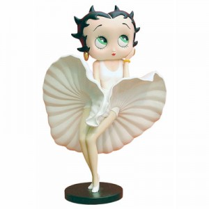 Betty Boop Cool Breeze (White Dress) Med
