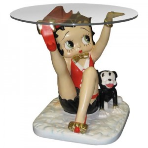 Large Betty Boop Table