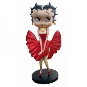 Betty Boop Cool Breeze (Red Dress) Small