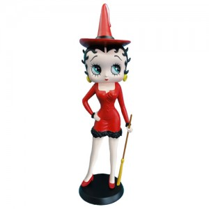 Betty Boop Witch (Red Dress)