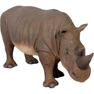 Life Size Baby Rhinoceros Statue