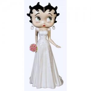 Large Betty Boop Wedding - 3ft
