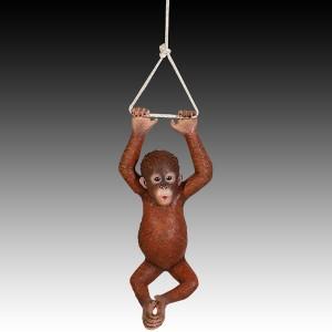 Hanging Monkey Baby Orangutan