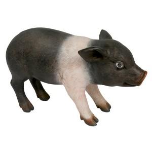 Standing Piglet Sculpture - 39.5cm