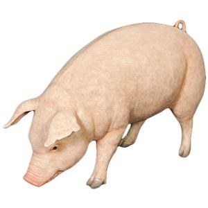 Life Size Pig Sculpture - 127.5cm