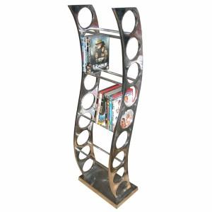 Aluminium DVD Rack