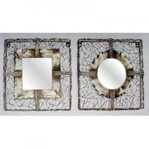 Wire Work Mirrors - Set of 2