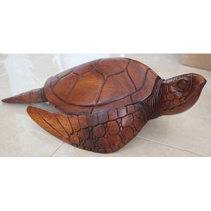Suar Wood Turtle 40cm