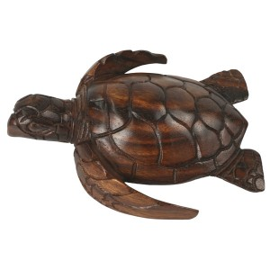 Suar Wood Turtle 20cm