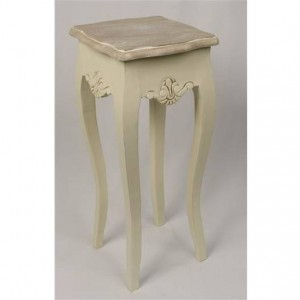 Loire Range Antique Cream French Style Plant/Lamp Stand - 62cm