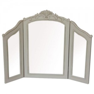 French Country Range Triple Dressing Table Mirror