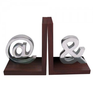 Aluminium @ - & Bookends