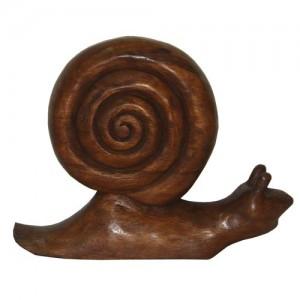 Wooden Snail