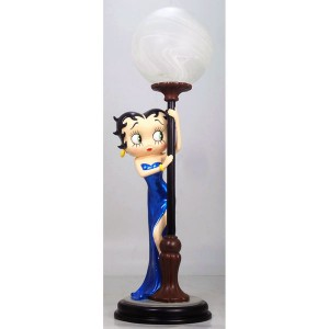 Betty Boop Hide & Seek Lamp Blue Dress