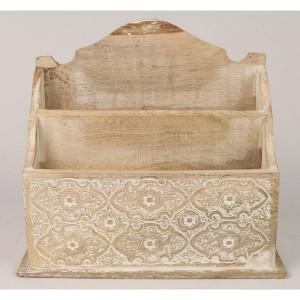 Mango Wood Sulfi Design Letter Rack
