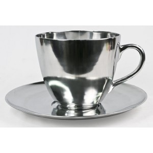 Aluminium Tea/Coffee Cup - 21cm