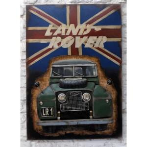 Land Rover 3D 4x4 Wall Art