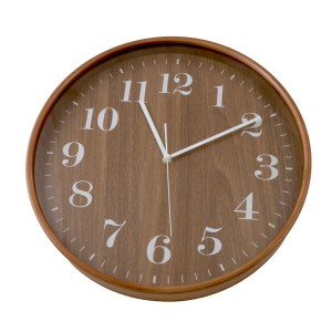 Round Wooden Wall Clock 31.8cm
