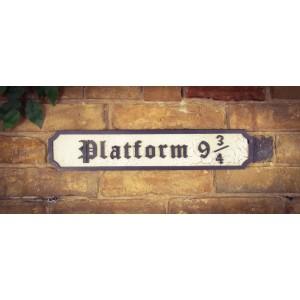 Platform 9 3/4 Tourist Sign