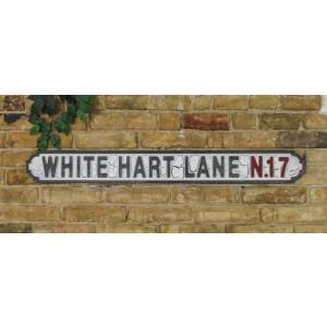 White Hart Lane N.17 - MDF Sign