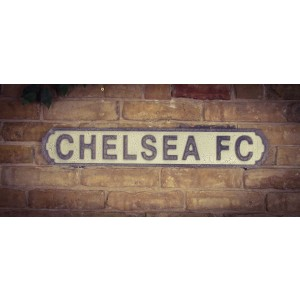 Vintage Sign Chelsea FC- MDF