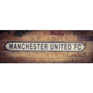 Vintage Sign Manchester FC  - MDF