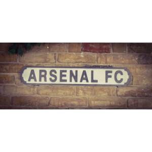 Vintage Sign Arsenal FC - MDF