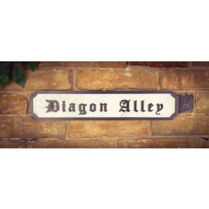 Diagon Alley Tourist Sign