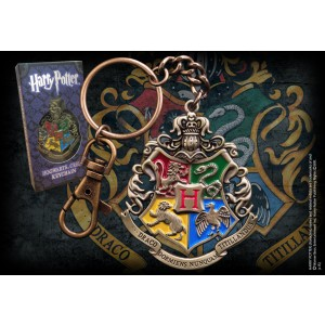 Hogwarts Crest Key Chain