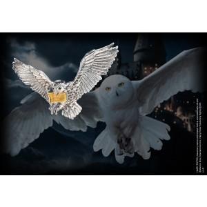 The Flying Hedwig Brooch