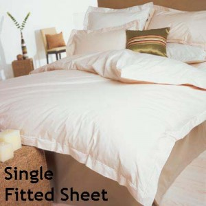 Percale 400 Count Single Fitted Sheet