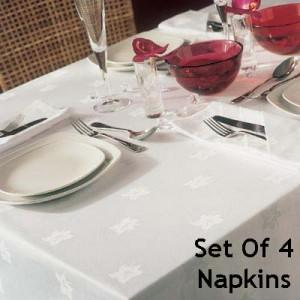 Ivy Leaf - Set Of 4 Napkins