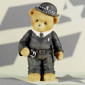 Cherished Teddies - Vowing to serve & protect