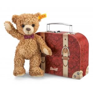 Carlo Teddy Bear In Suitcase
