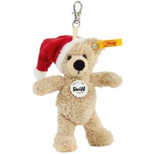 Keyring Fynn Teddy Bear - Santas Hat