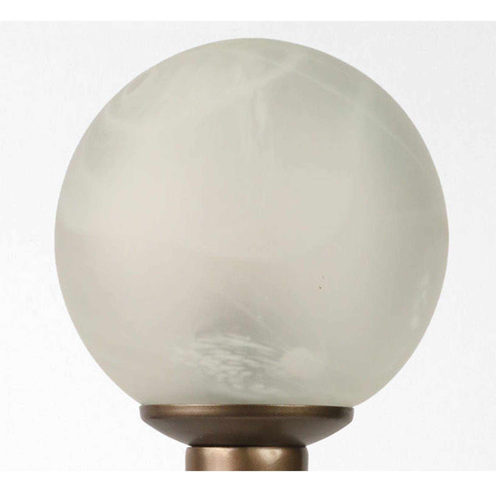 Picture of: Shade Only Art Deco Style Glass Globe Shade Marble Swirl Effect
