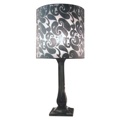 Modern Acrylic Base Lamp with Shade + FREE BULB