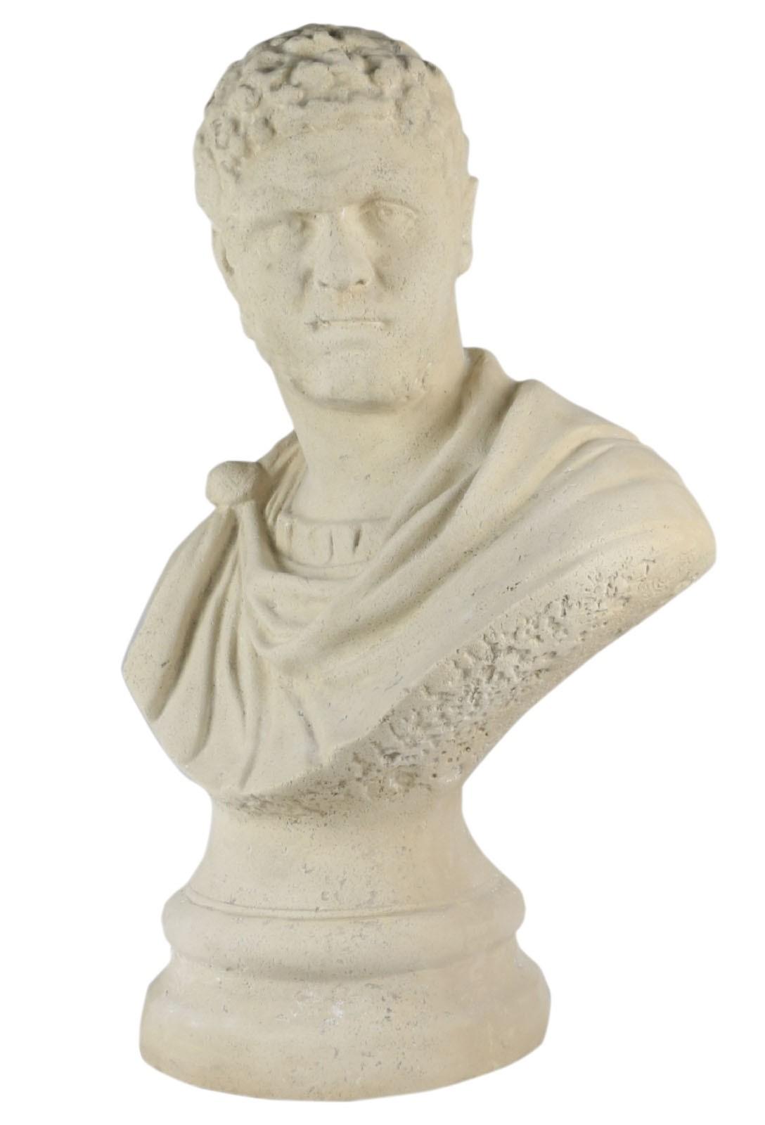 Nero Bust Roman Stone 70cm