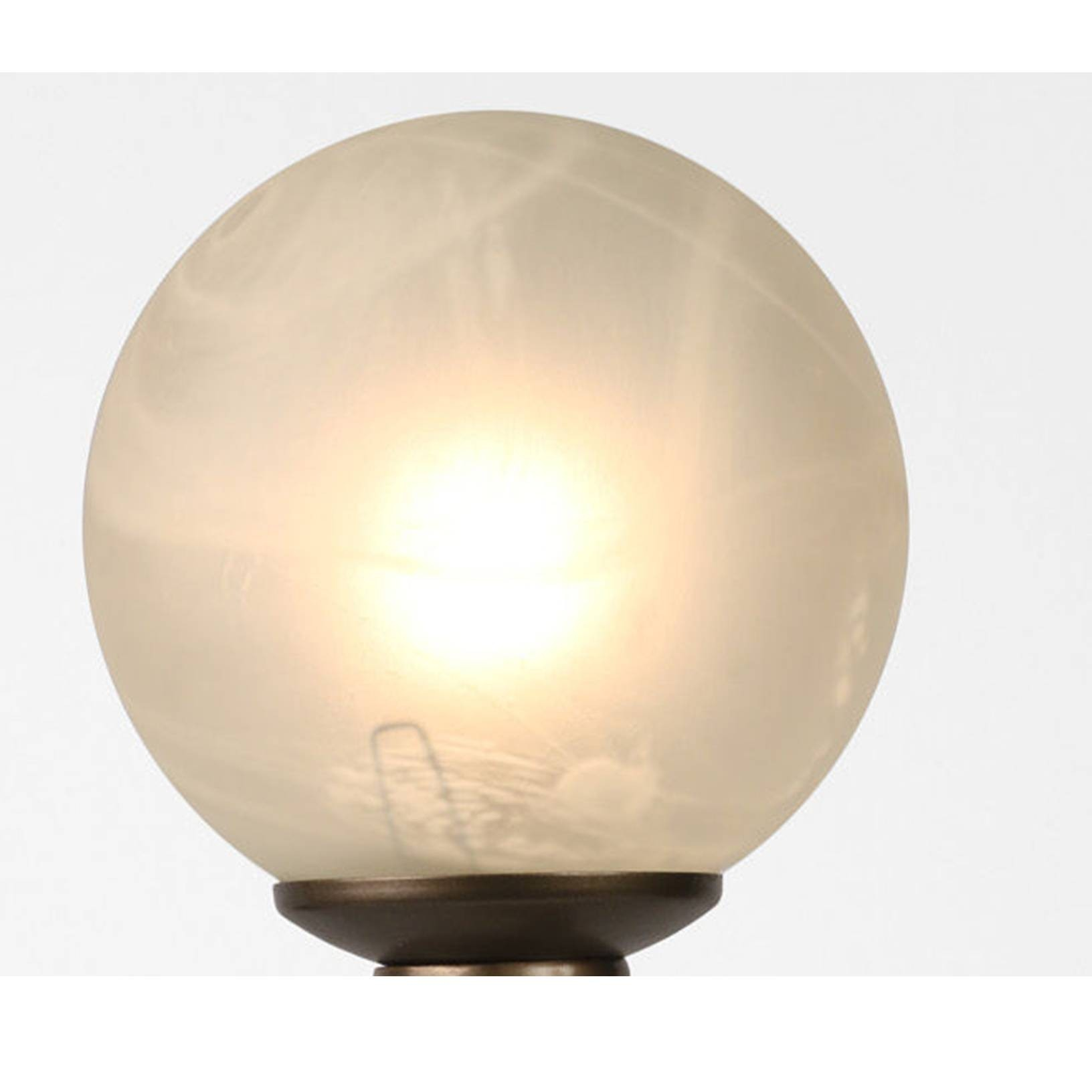 Shade Only Art Deco Style Glass Globe Shade Marble Swirl Effect
